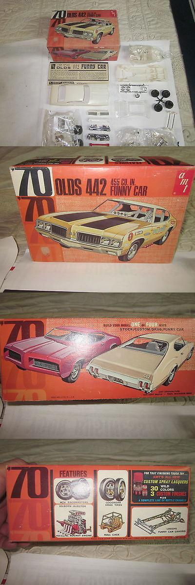 Vintage 2585: Original Amt 1970 Oldsmobile Cutlass 442 Funny Car Model Kit -> BUY IT NOW ONLY: $99.99 on eBay!