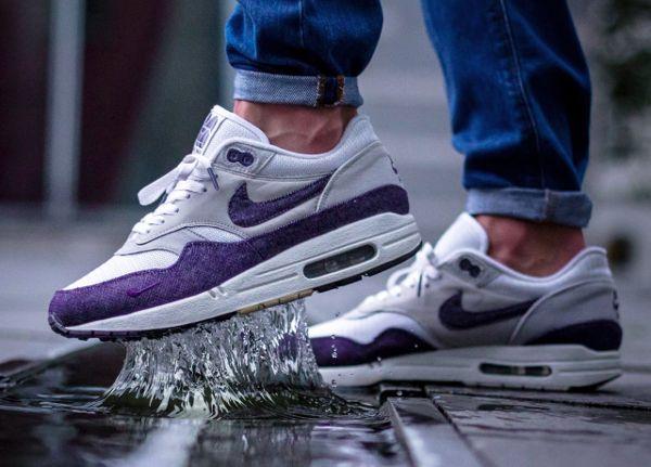 Patta x Nike Denim Air Max 1 Purple Denim Nike @robin we1 http// 5b8ffd
