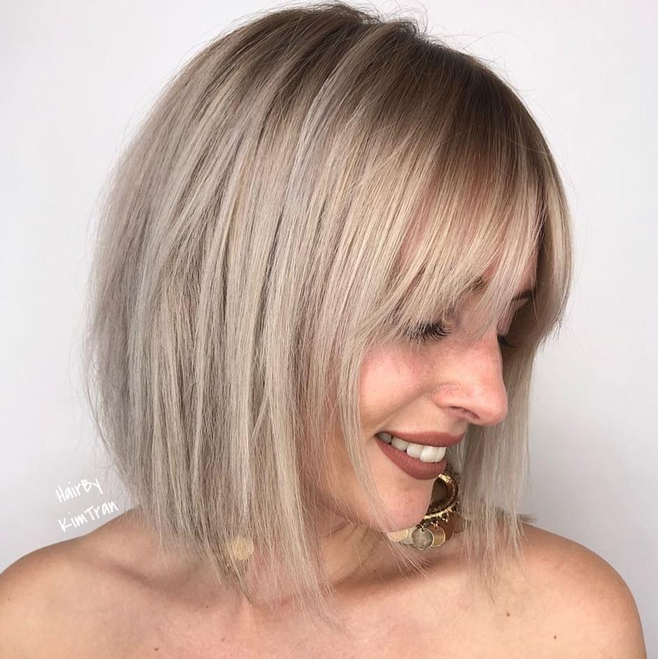 40+ Haircuts for thin hair 2020 ideas
