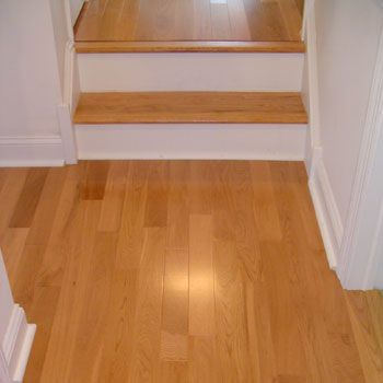 Best White Oak Stair Treads Stair Tread To Match The 640 x 480