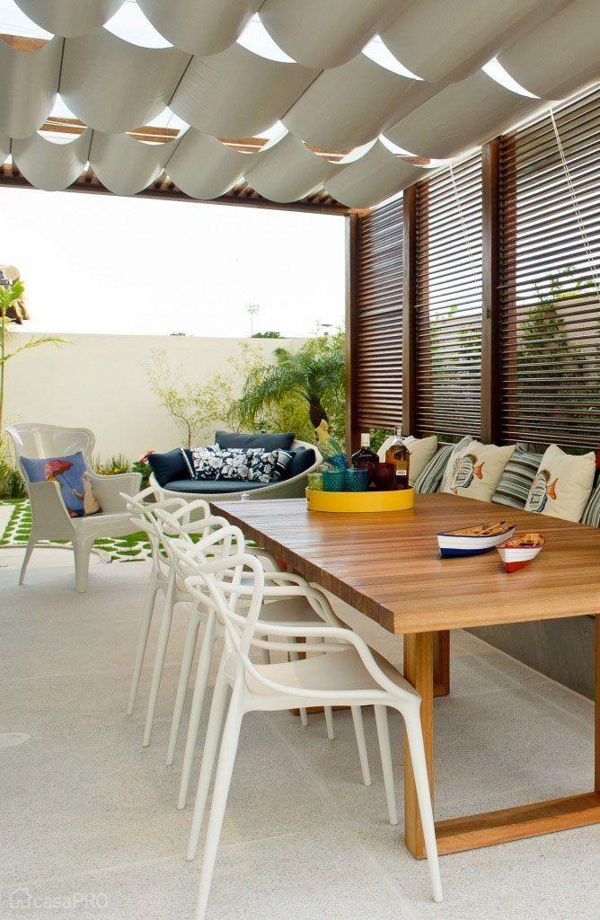 imagem (35) terraço Pinterest Mesas - balcones modernos