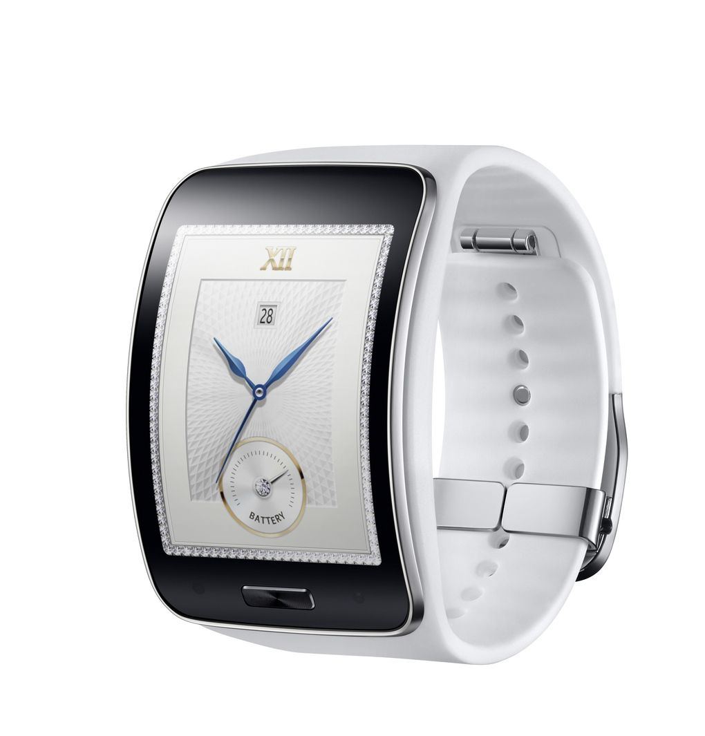 Samsung Announces Curved Gear S Smartwatch With 3g Smartwatch