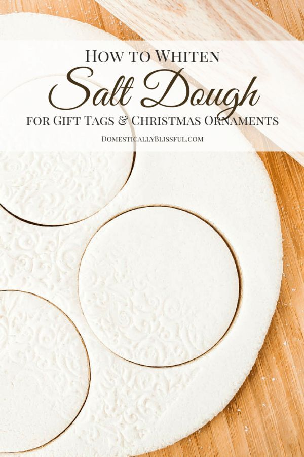 The Secret to Making WHITE Salt Dough