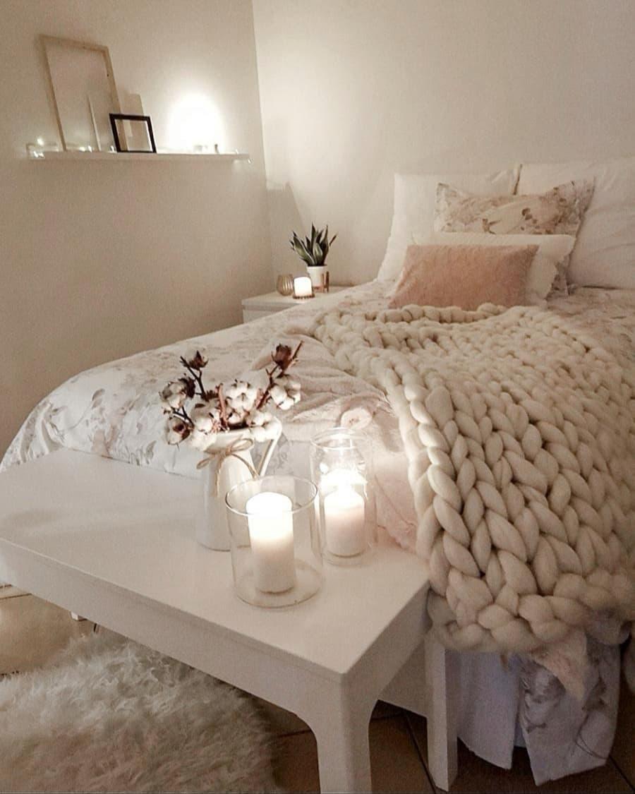 Gemütliche Schlafzimmer Deko