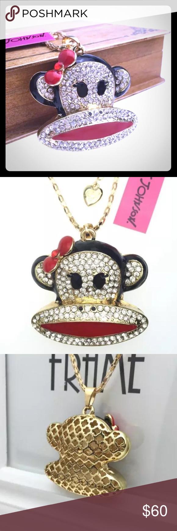 Spotted while shopping on Poshmark: 🙉Betsey Johnson Necklace🙉! #poshmark #fashion #shopping #style #Betsey Johnson #Jewelry