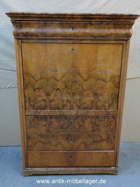 Schreibtisch Antik Berlin biedermeier sekretär antique biedermeier davenport 1820s