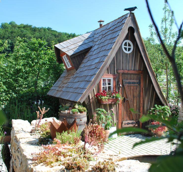 Meiselbach Märchenhaftes Gartenhaus Tipi zelt, Haus