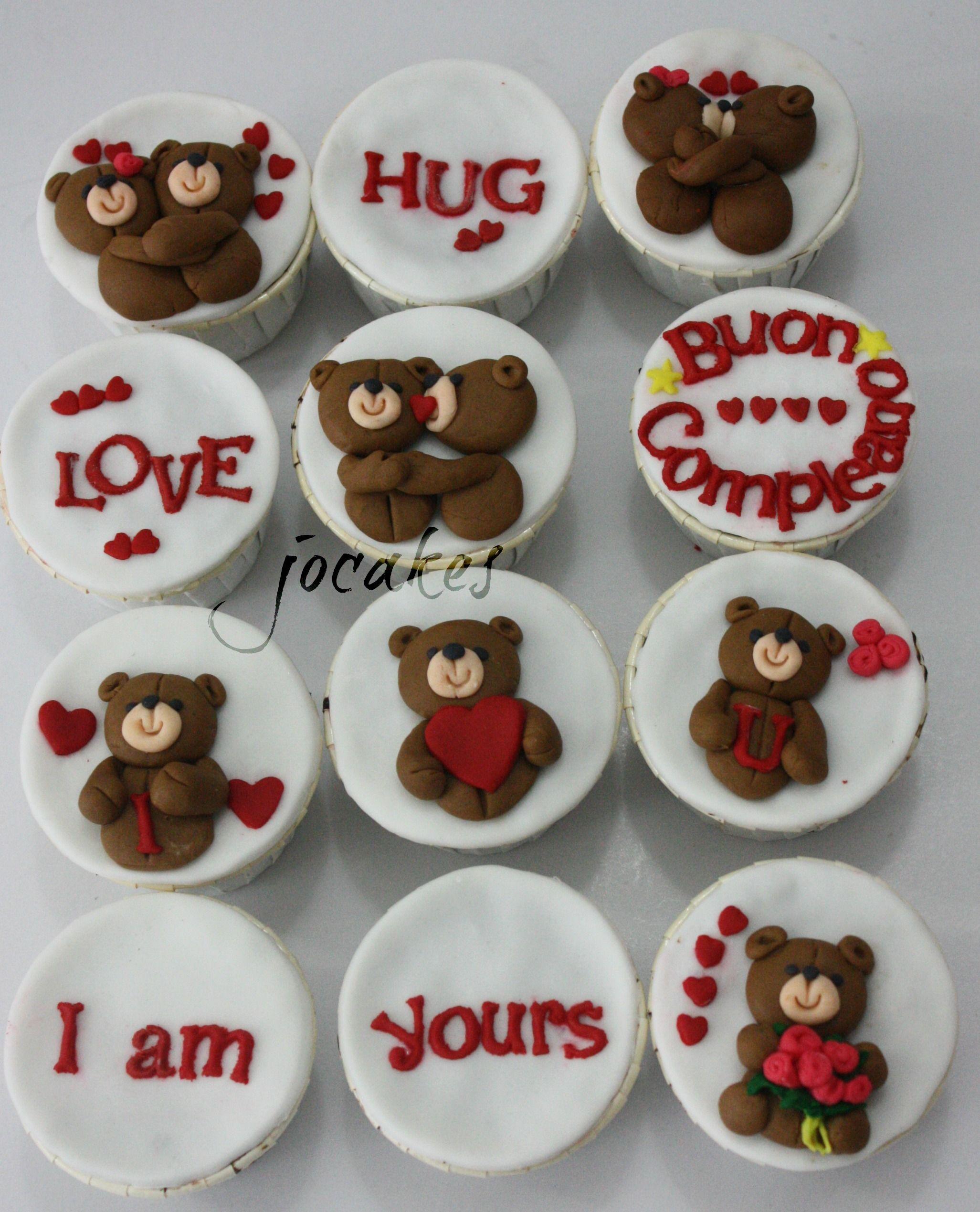 Birthday Love Cupcakes Cakes Pinterest Cake Anniversary