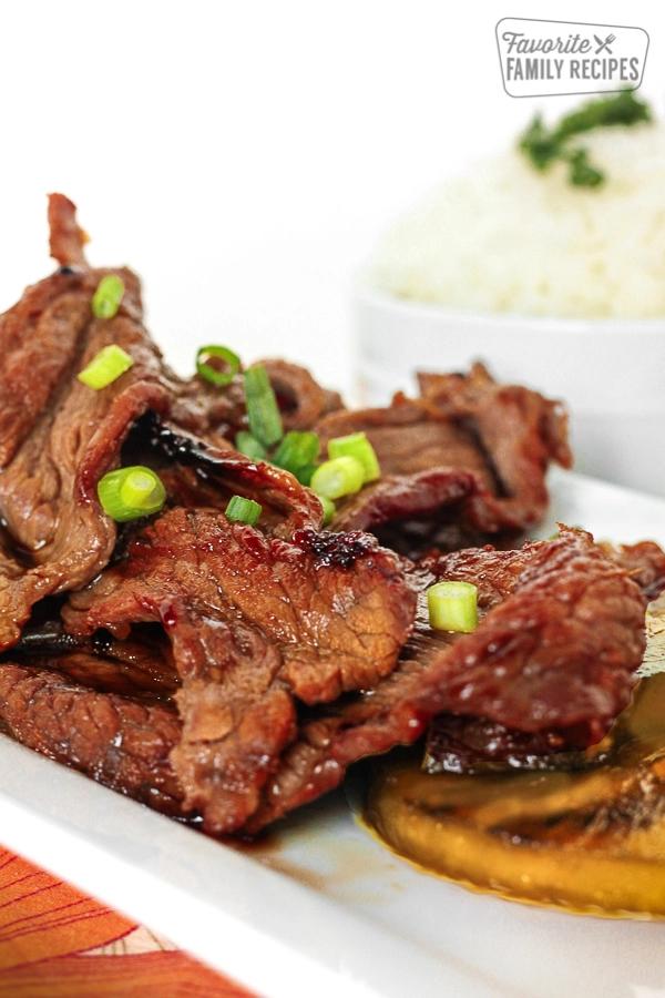 Hawaiian Beef Teriyaki #hawaiianfoodrecipes