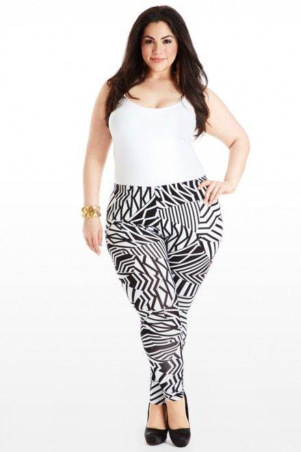 Plus Size Ladies Leggings