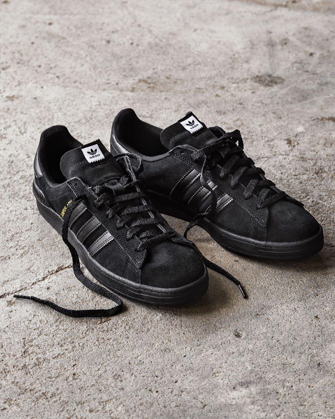adidas Skateboarding Campus ADV Shoes (core black core black