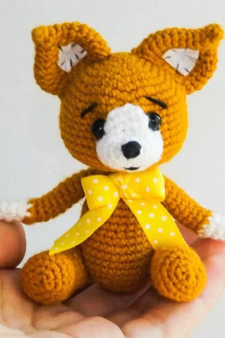 Baby fox amigurumi crochet pattern (free) | Freebie Jeebies (Crochet ...