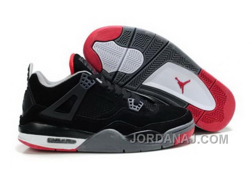 832a257f0293 Anti-fraud - The North Face. New Air Jordan 4 IV Retro Mens Shoes Fur  Winter Black Red ...