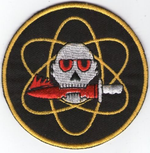 écusson ECUSSON PATCHE PATCH PINTBALL COMMANDO COUTEAU