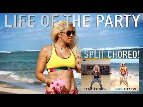 Life Of The Party Dawin Mironzumba Split Choreo 18 Zumba Routines Aqua Zumba Water Exercises