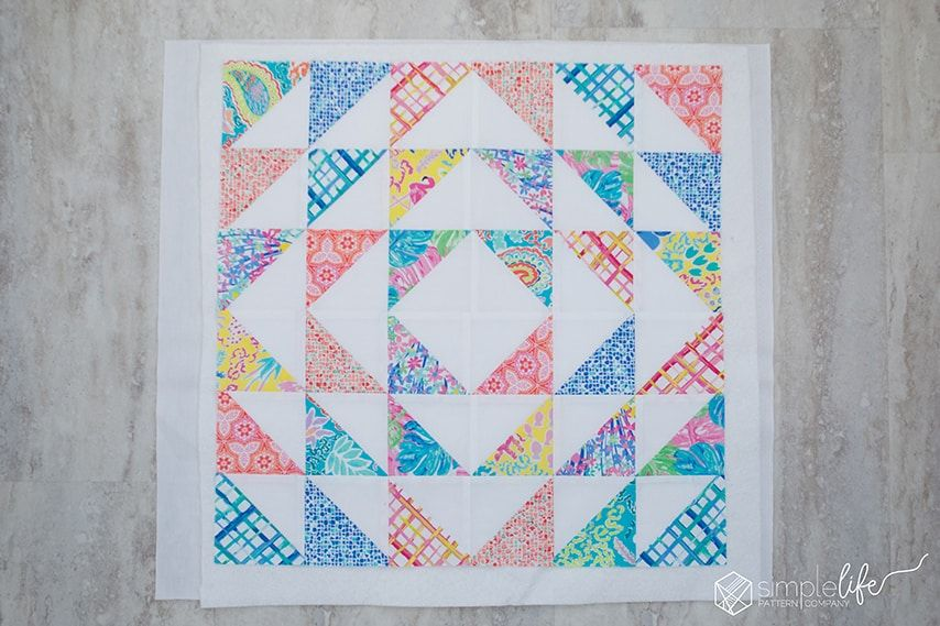 Free Quilted Pillow Pattern Using The Cricut Maker The Simple Life Quilted Pillow Pillow Pattern Quilted Pillow Covers