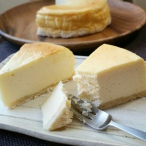 生クリーム無し♪チョコで濃厚ベイクドチーズケーキ レシピ・作り方