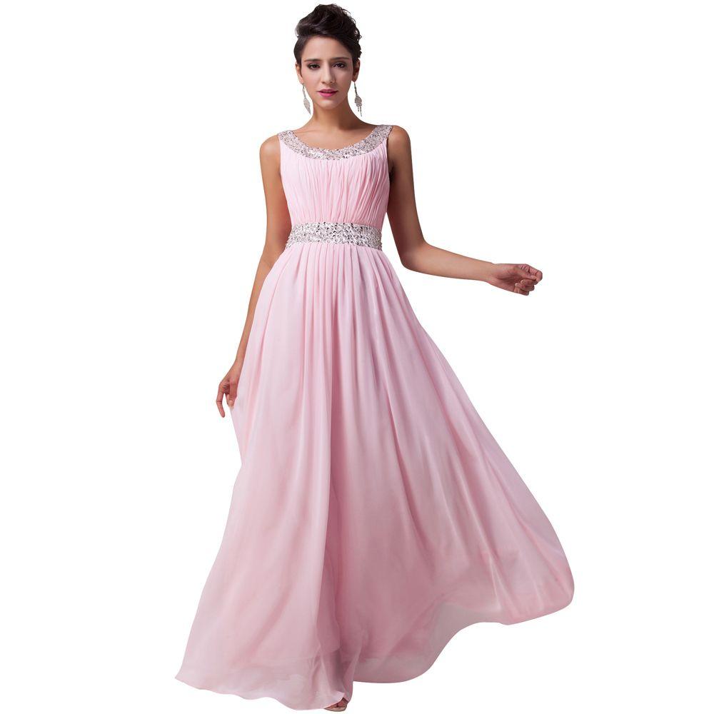 Robe de soiree longue evening dresses pink long formal dress robes