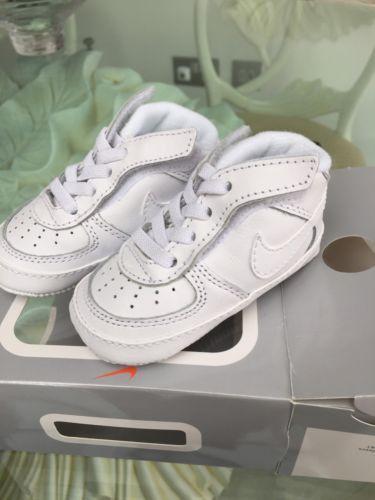 Nike air #force 1 baby #trainers #u.k.2.5/eu18.5,
