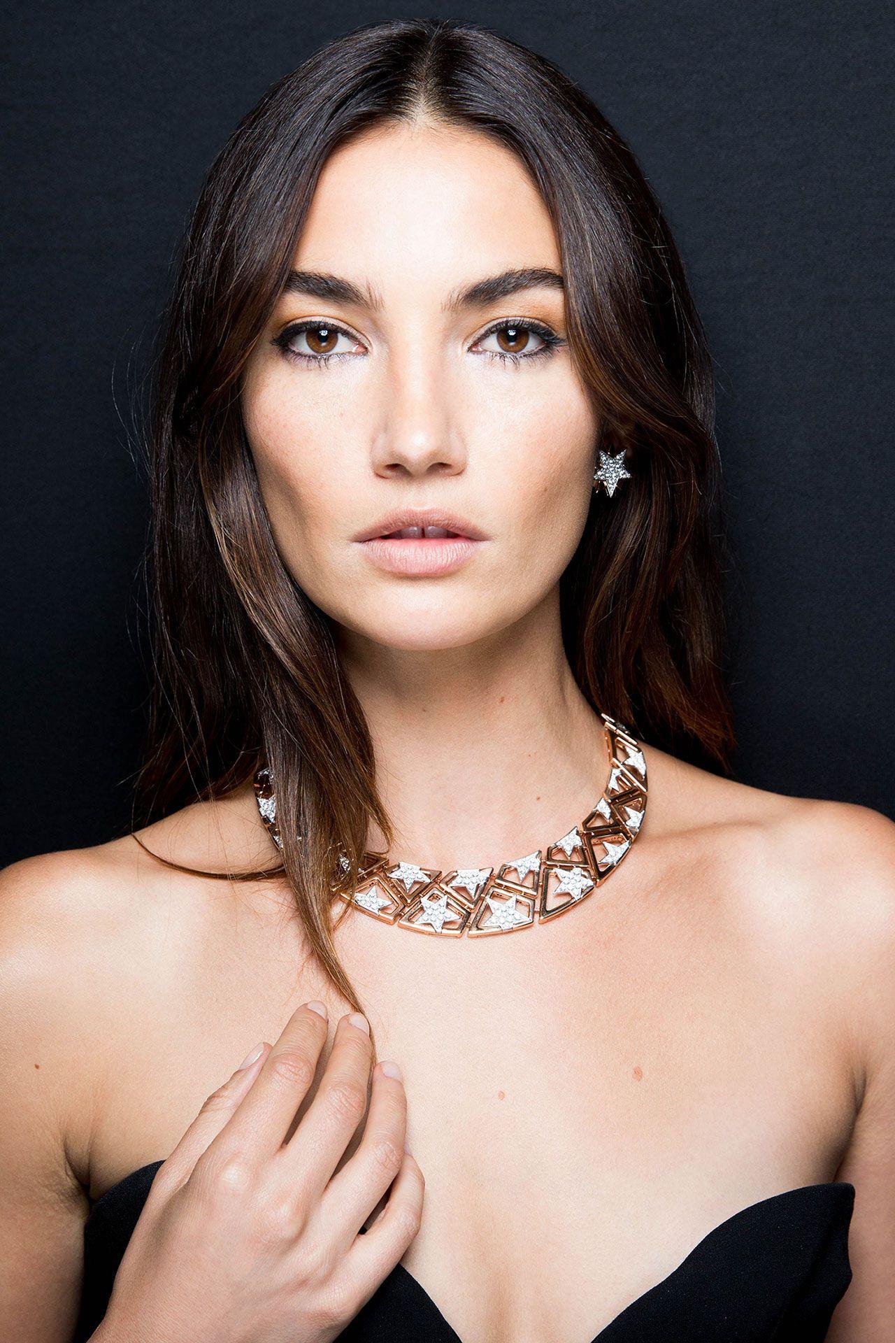 Lily Aldridge in Bulgari NY Capsule Collection High Jewelry   Bvlgari, Bulgari high jewelry, High jewelry