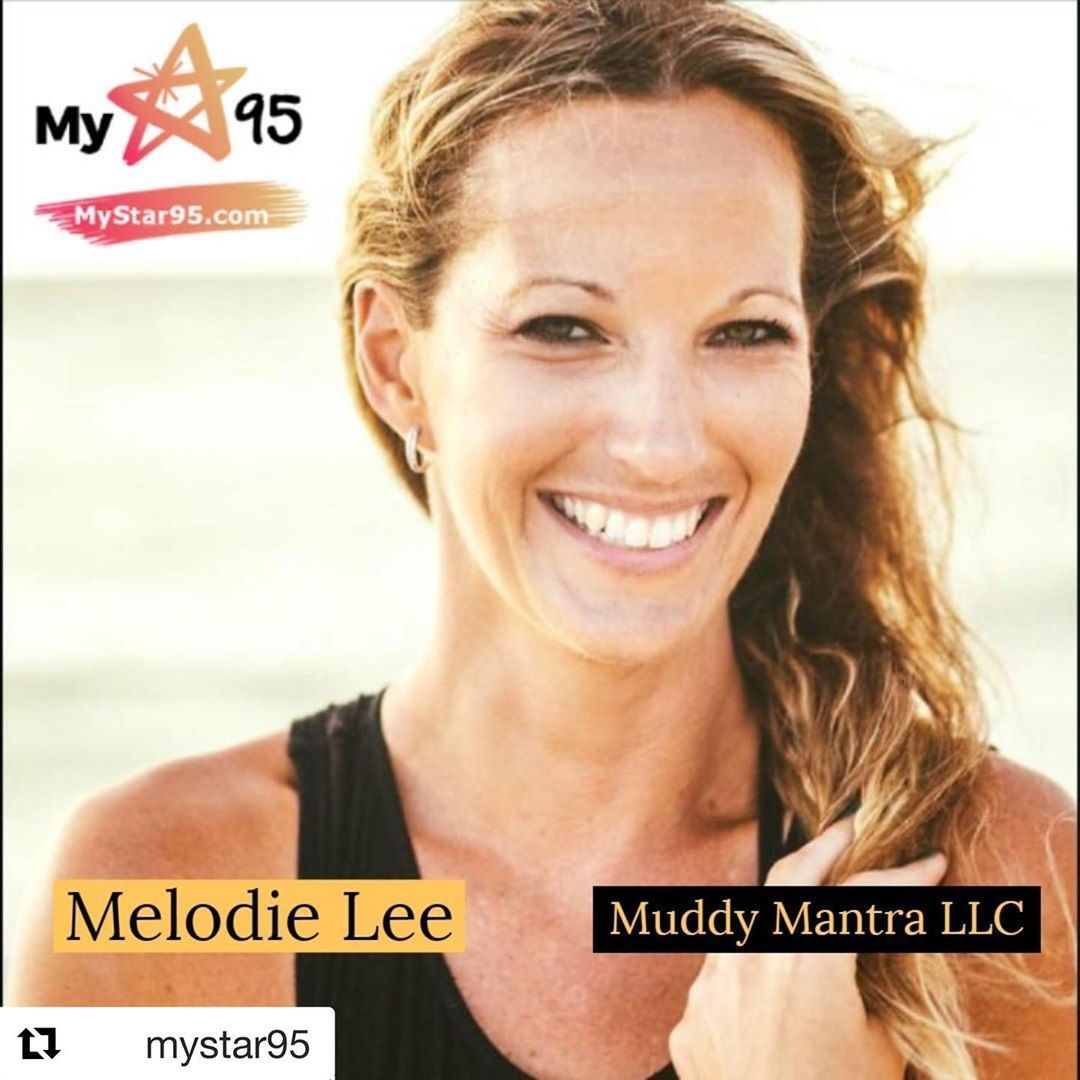 @mystar95 with @get_repost ・・・ Melodie Lee of @muddymantra is our IN STUDIO GUEST this Thursday morning at 11 with Jim Barnes on .
