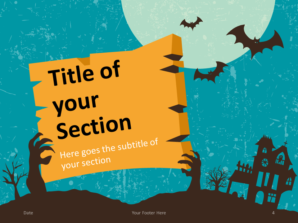 Spooky Template For Powerpoint And Google Slides Powerpoint Templates Google Slides Powerpoint
