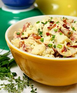 Potato Salad With Sour Cream And Cheese