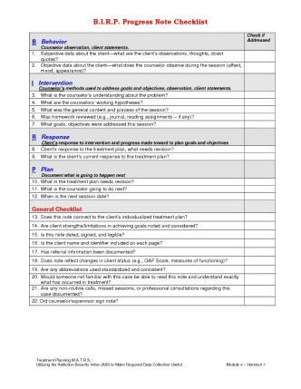 BIRP for progress notes | assessment and note taking | Pinterest