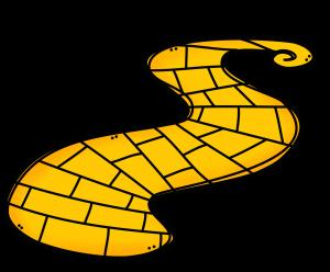300x248 Brick Clipart Brick Road Yellow Brick Road Road Drawing Wizard Of Oz