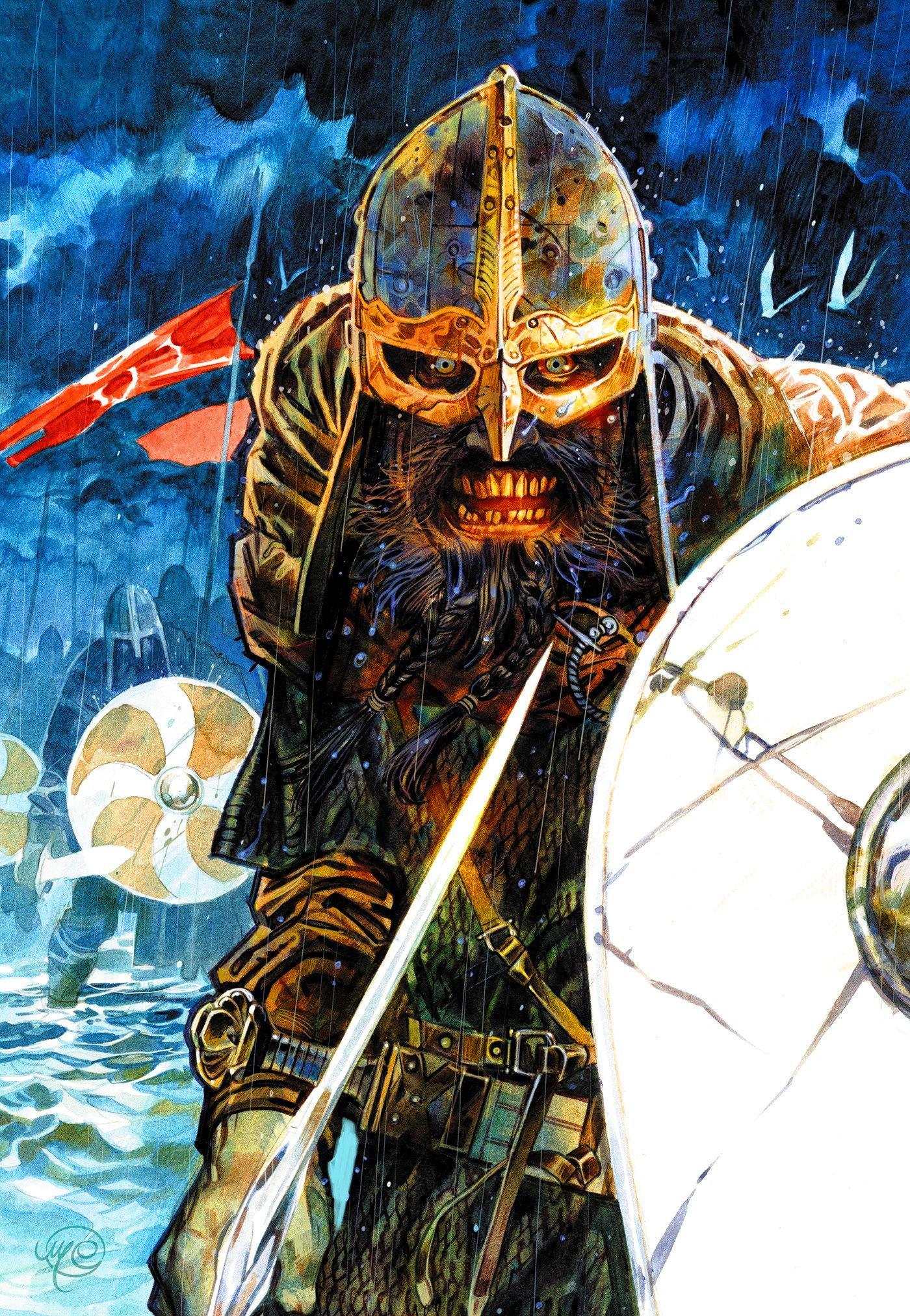 Fearsome Viking Berserker