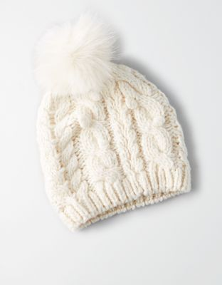 Aeo Bobble Cable Beanie By American Eagle Outfitters