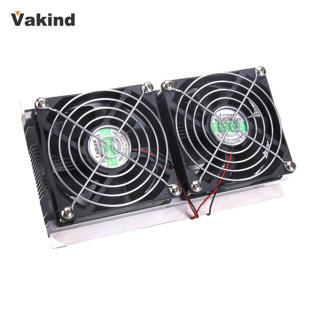 Thermoelectric Peltier Refrigeration Cooling System Kit Cooler 2 X