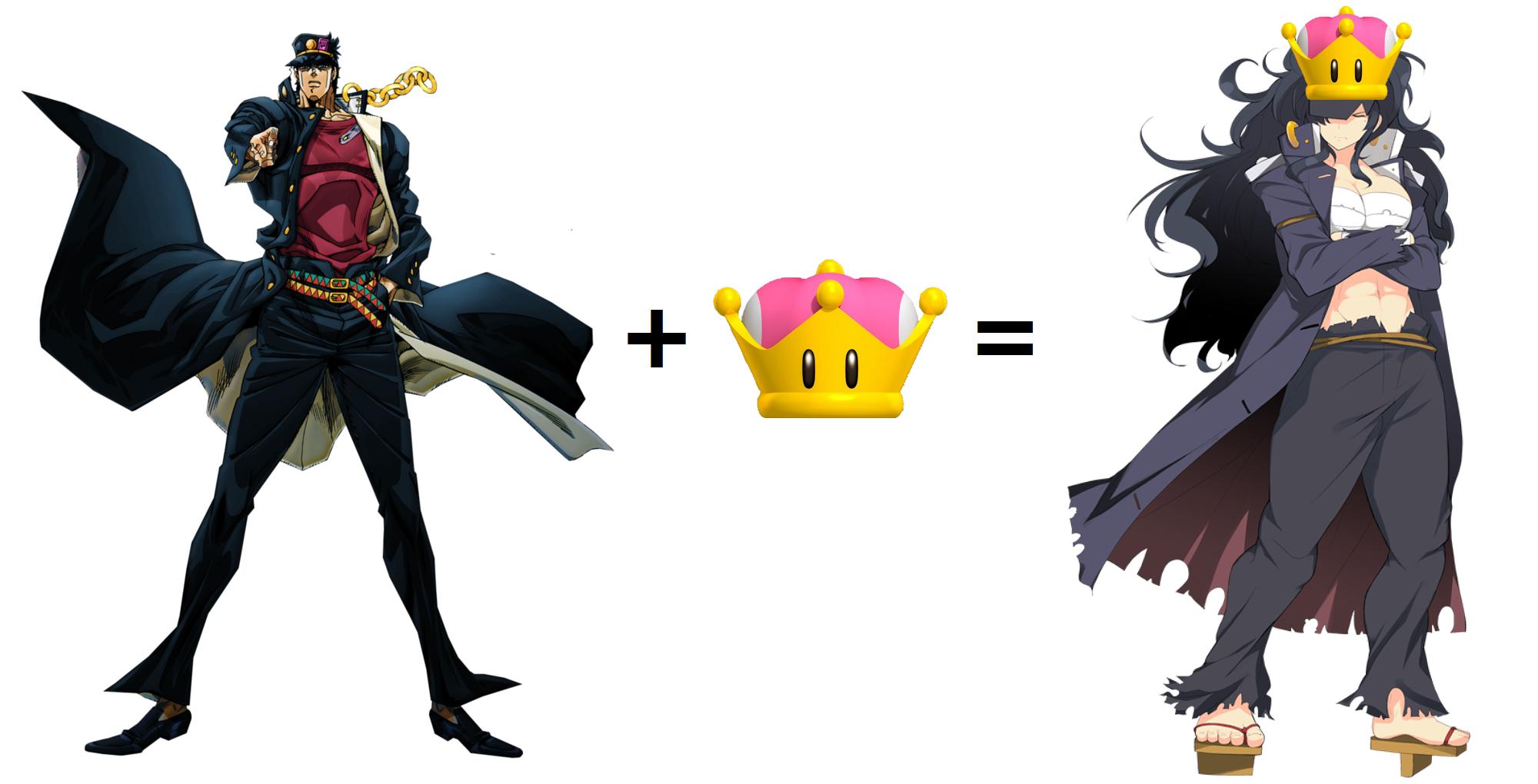 Jotaro Kujo Version Peachette Super Crown Jotaro Kujo Know Your Meme Super