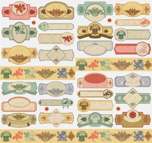 manualidades, ideas, CalligraphyClip Art for Background - imagenes de manualidades