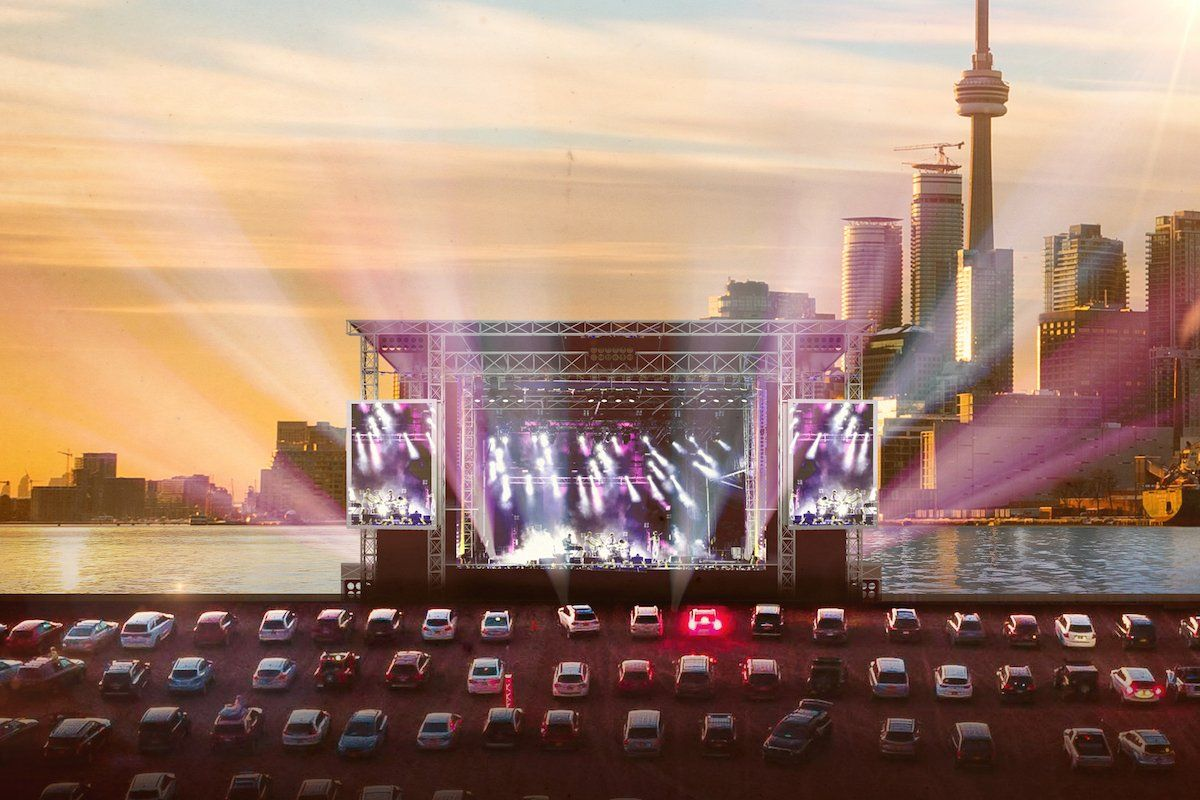 Introducing Cityview Drive In Toronto S Newest Concert Entertainment Venue In 2020 Drive In Movie Drive In Movie Theater Concert
