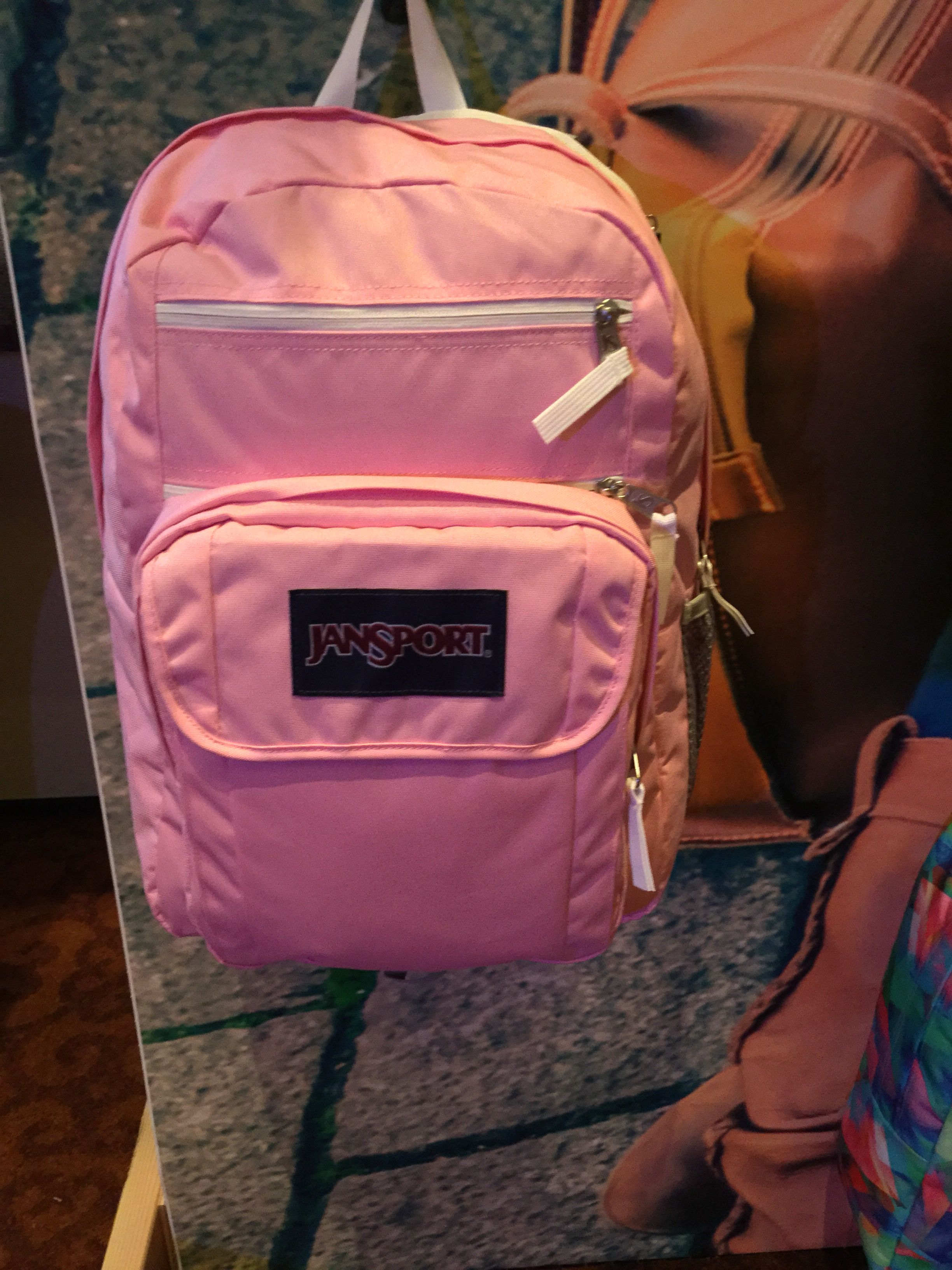 0843398ec92 JanSport DIGITAL  DIGITAL STUDENT with removable laptop sleeve Prism Pink  (carryover) available SPRING 18. Find this Pin and more on High school  backpacks ...