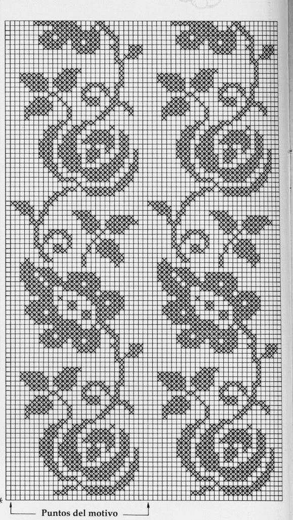 crochet pattern...♥ Deniz ♥. | Uncinetto | Pinterest | Cortinas ...