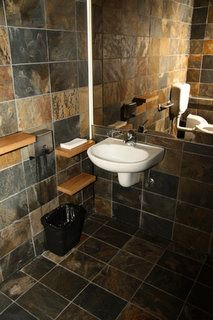 Project Images Of Natural Stone Slate Tiles Used On Bathroom Floors Walls