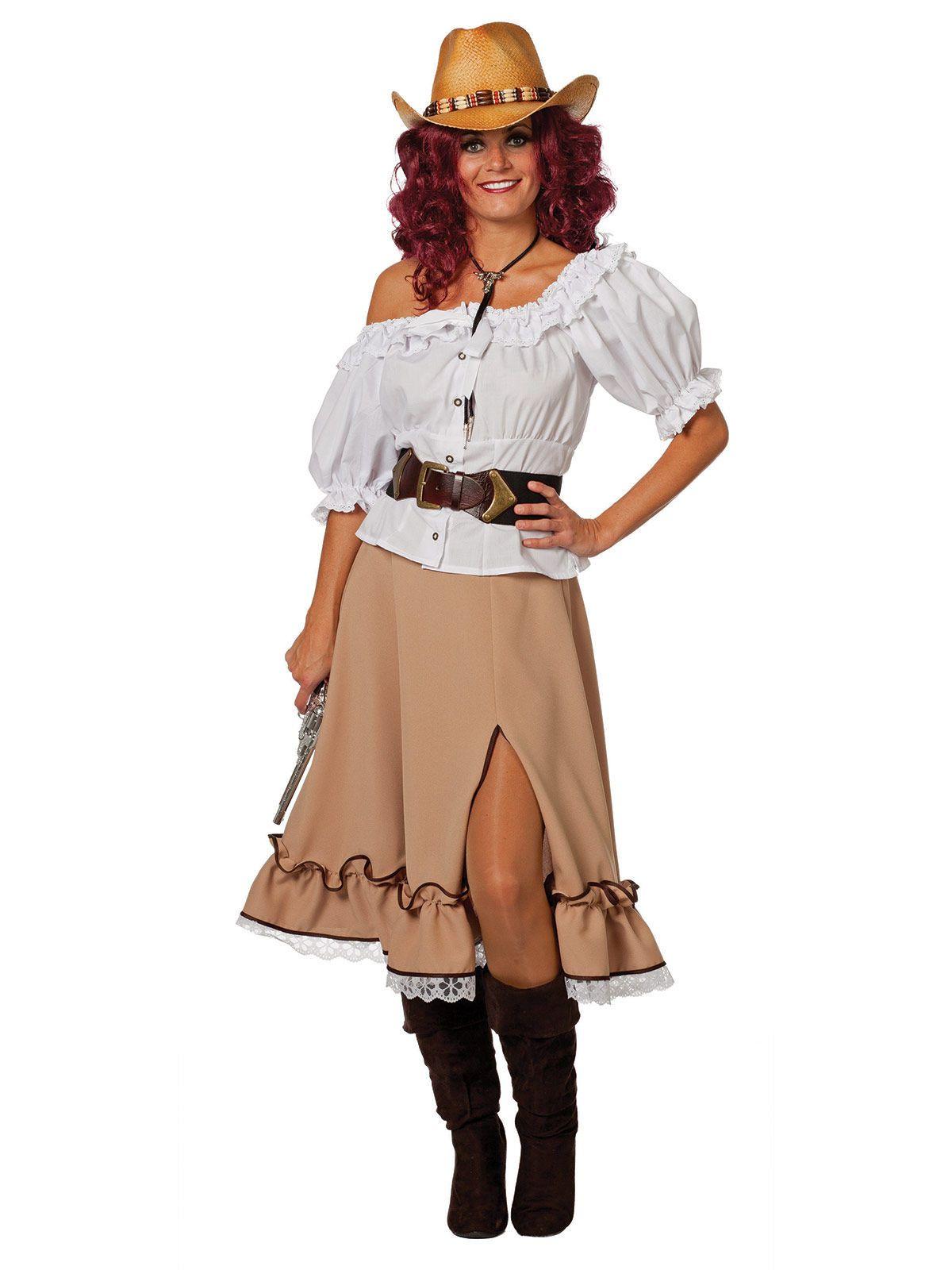 Cowgirl Rock Western beige   Outfit, Piraten kostüm, Karneval