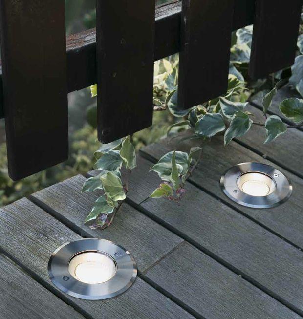 Focos de suelo señalizadores de caminos para jardines Iluminacion - iluminacion jardin