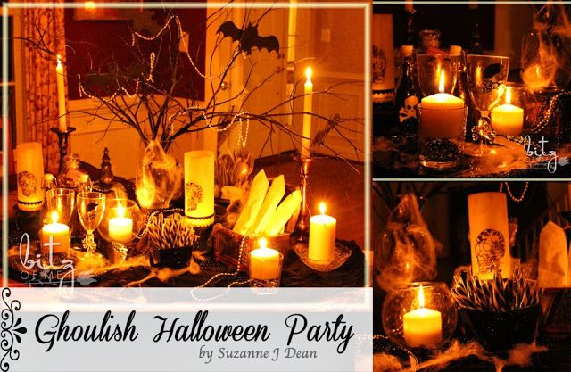 Ghoulishly Good Adult Halloween Party Ideas  Tips! BlogHer - adult halloween party decor