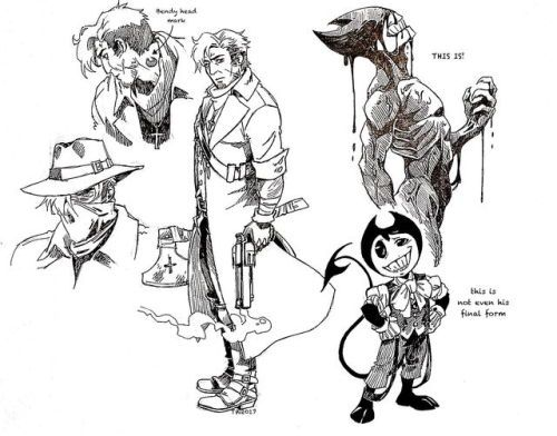 Pin By Wowihavenoname On Bendy And The Ink Machine Batim