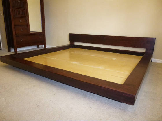 Each Bed Is Hand Made To Order Asian Or Japanese Style