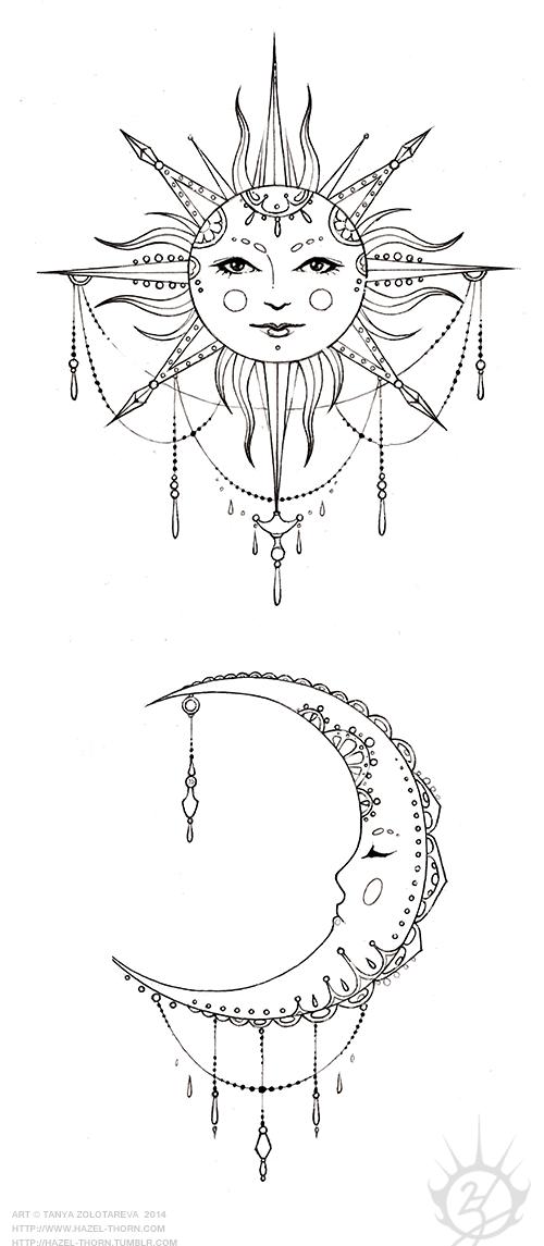 hazelthorn Moon tattoo designs, Tattoos, Friend tattoos