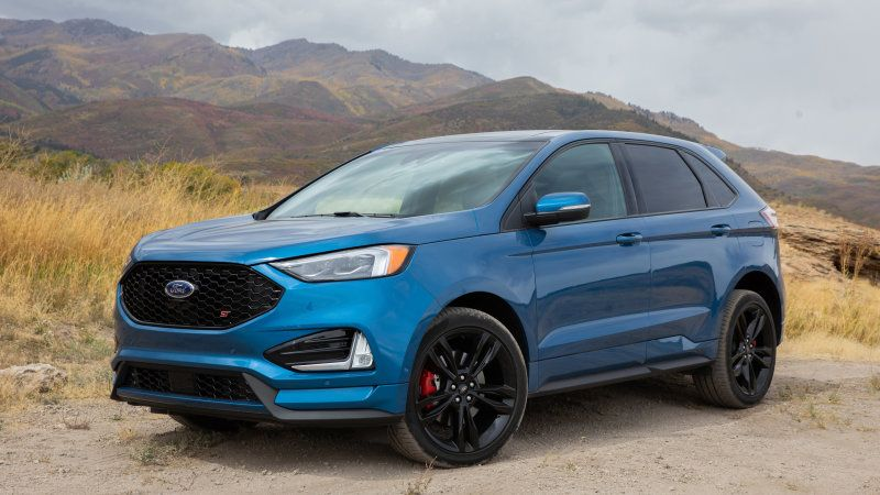 2019 Ford Edge St First Drive Road Test Review Ford Edge 2019 Ford Ford