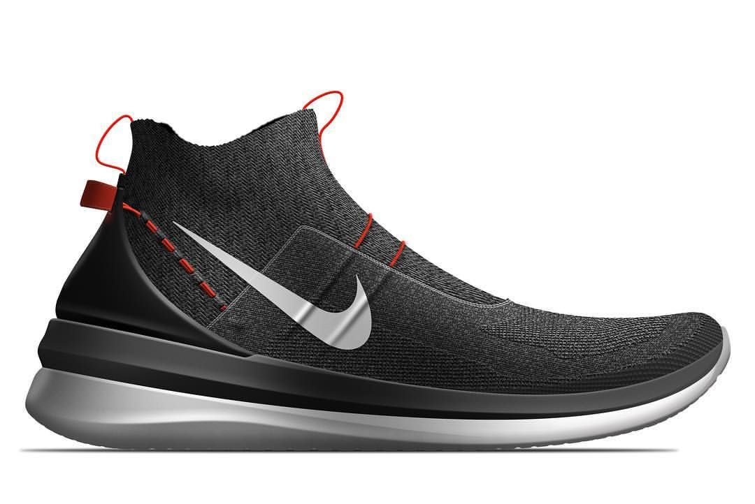 Lifestyle basketball shoe concept for the @nike #nikeeasechallenge  #footweardesign #industrialdesign #rendering