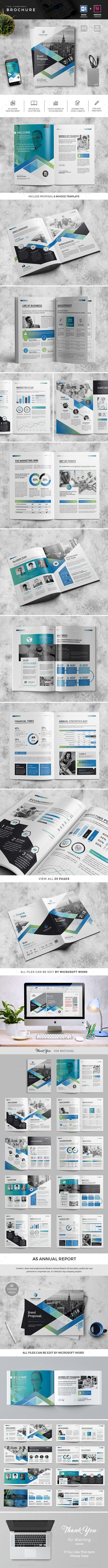 The Brochure  Corporate Brochure Brochures And Brochure Template