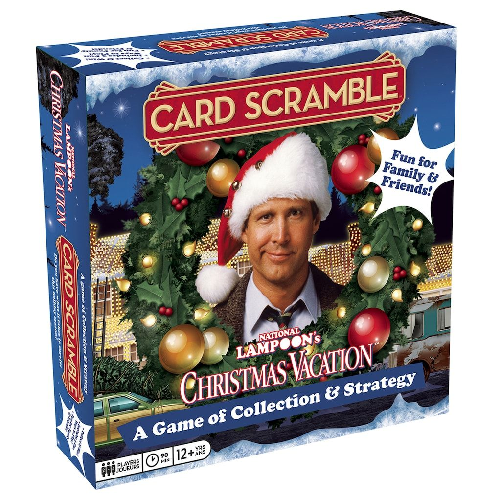 Aquarius National Lampoon S Christmas Vacation Card Scramble Board