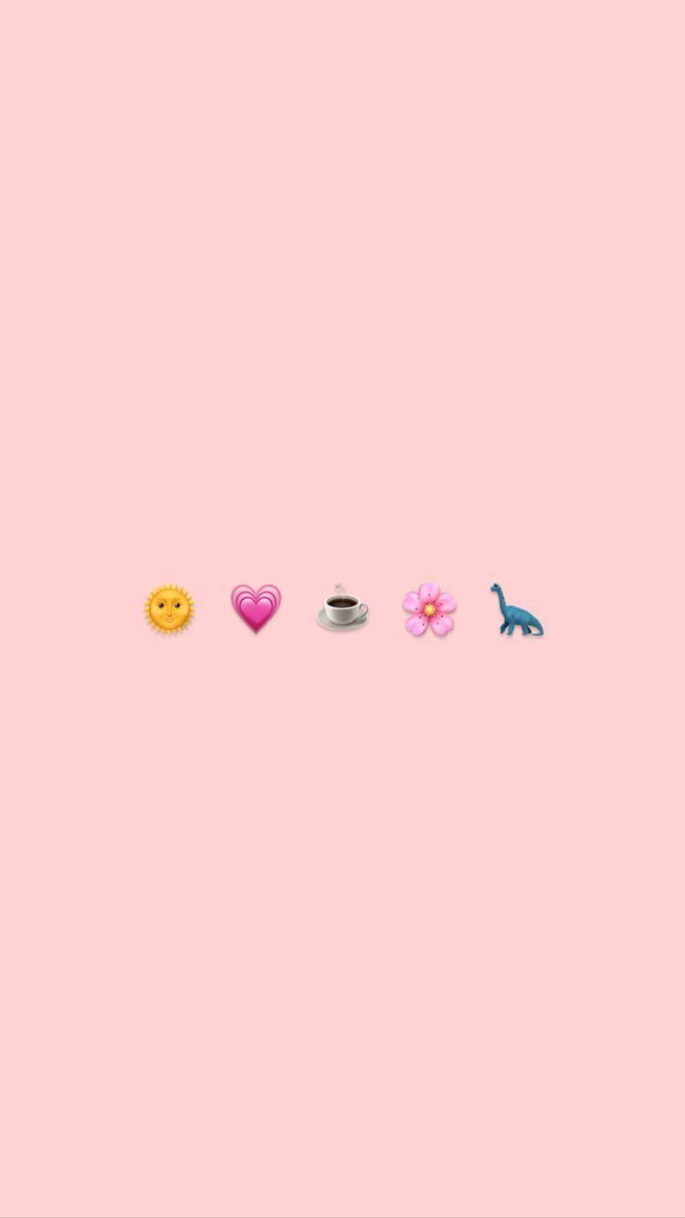 Pin By R O S I E On A E S T H E T I C Emoji Wallpaper Cute Emoji Wallpaper Aesthetic Iphone Wallpaper