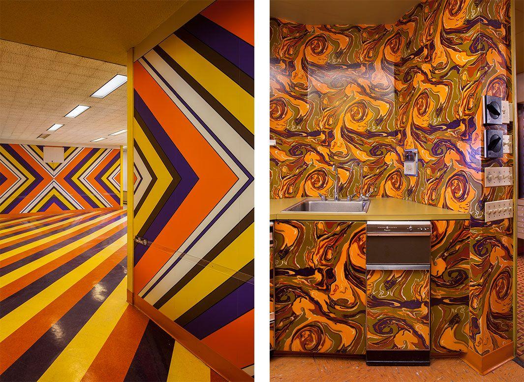 The vintage interiors of ebony magazine s historic former - Interior design companies chicago ...
